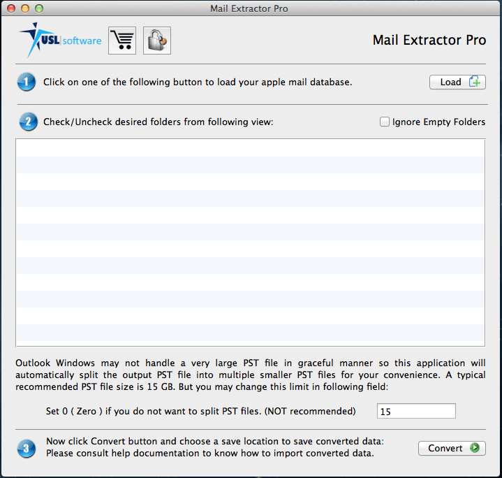 Apple Mail Mailbox to PST Converter