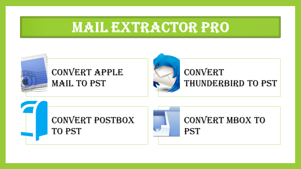 Export MBOX to Outlook 2019 / 2016 / 2013 / 2010 or Office 365