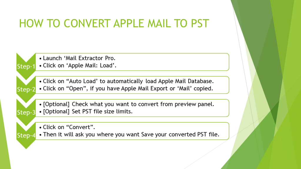 convert apple mail to outlook 2019