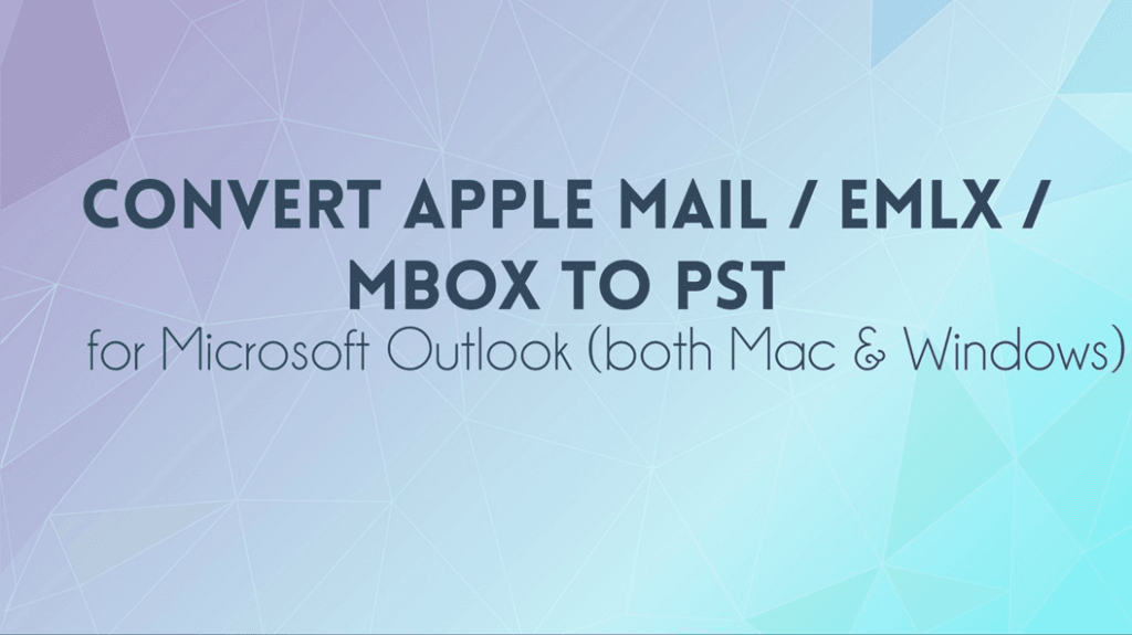 export apple mail to outlook 2016