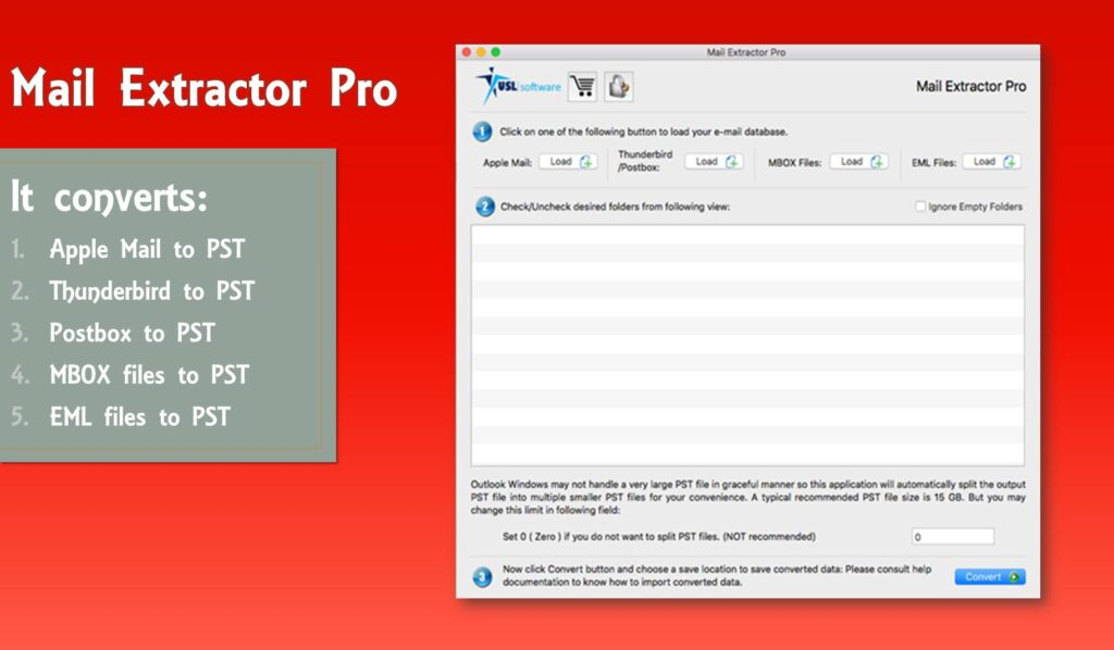 import Apple Mail to PST