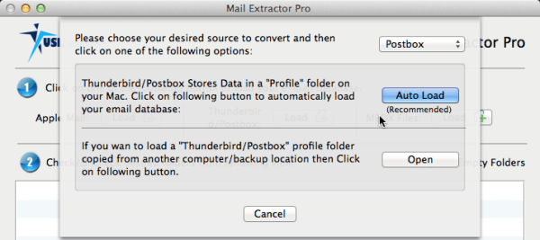 postbox mbox to pst converter