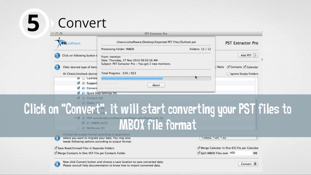 pst to mbox conversion